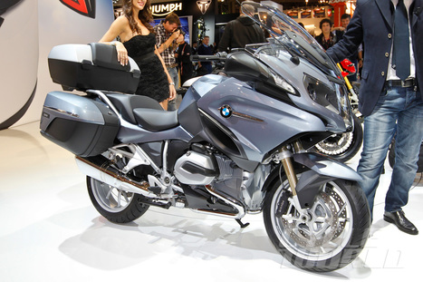 2014 BMW R1200RT – First Look New liquid-cooled boxer engine, improved electronics, characterize BMW's multipurpose machine. | Design | Scoop.it
