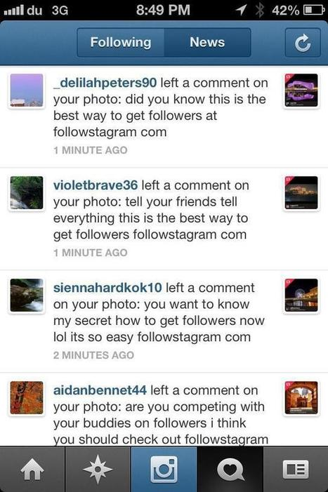 How to Avoid Spam on Instagram?   Instagramers.com   PHOTOS ON THE GO   Scoop.it
