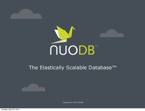 Dassault Systèmes leads $14.2 million investment in US-based NuoDB | Digital engineering | Scoop.it