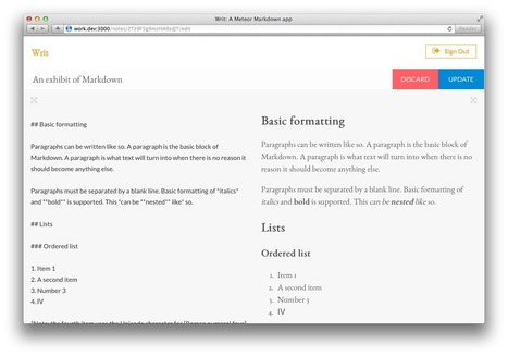 JavaScript and future development landscape - embracing Meteor | UI development | Scoop.it