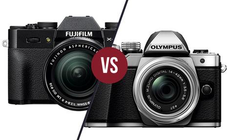 Duel - Fujifilm X-T10 vs Olympus OM-D E-M10 Mark II - Focus Numérique | Fujifilm X Series APS C sensor camera | Scoop.it