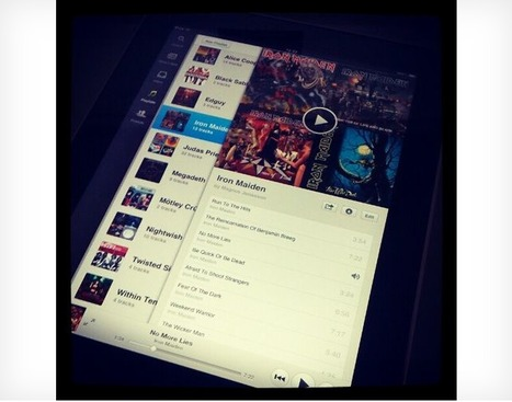 Is this Spotify's official iPad app?   Music business   Scoop.it