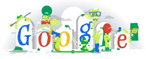 Doodle du jour : vendredi 31 octobre 2014 Halloween (Google) | Méli-mélo de Melodie68 | Scoop.it