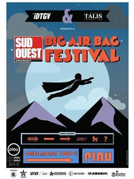 iDTGV Sud Ouest BIG AIR BAG Festival | PIAU-ENGALY Animation | Scoop.it