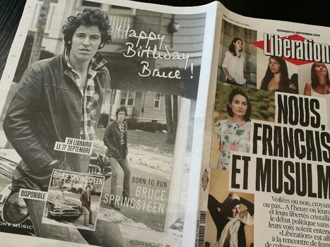 Happy Birthday Mr Springsteen ! - le Blog Bruce Springsteen   Bruce Springsteen   Scoop.it
