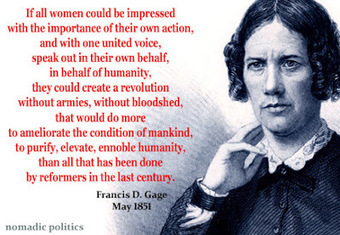 With One United Voice: The First Stirrings of the Women's Rights Movement in 1850 | Nomadic Politics | History of Social and Political Advances | Scoop.it