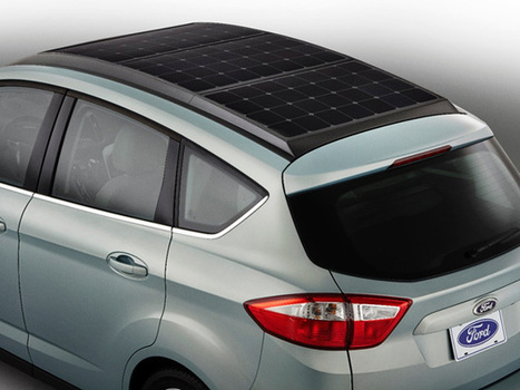 Ford Demonstrates First Solar-Powered Hybrid Car With Sun-Tracking Technology | Amazing Science | Scoop.it