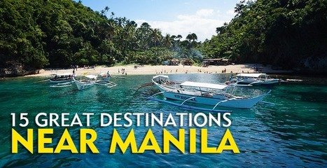 15 Great Destinations Near Manila, Philippines | The Poor Traveler | Tour and Travel | Scoop.it