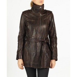 Tamia leather coat by hElium hE^2   Leather   Scoop.it