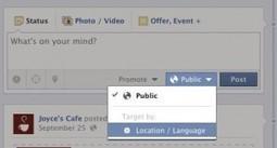 La gestion d'une page fan multilingue sur Facebook | Facebook pour les entreprises | Scoop.it