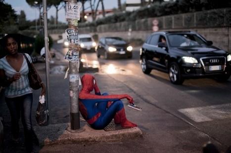 Les super-héros dans la photo | Paris, sous toutes les coutures | Scoop.it