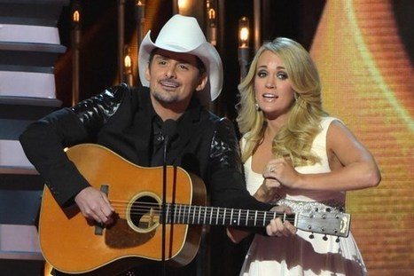 Brad Paisley, Carrie Underwood to Host 2015 CMA Awards | Country Music Today | Scoop.it