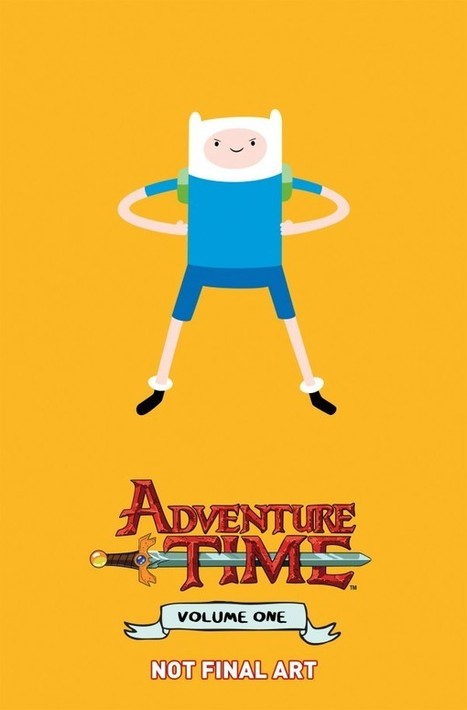 Adventure Time In A Deluxe Hardcover Format Far Too Heavy For Kids | Adventure Time Project | Scoop.it