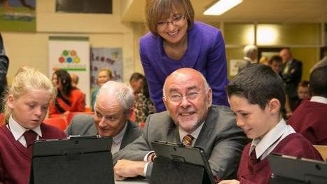Video: Up to 500 primary schools to sign up for digital programme - Irish Times | Learning skills and literacies | Scoop.it
