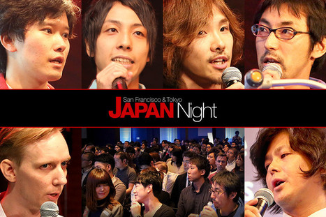 Japan Night VI Shows Off the Diversity of Japanese Startups | Social Time TV | Scoop.it