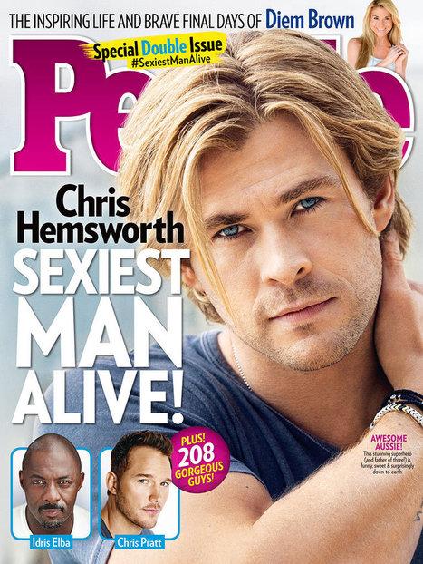 In this week's PEOPLE: Chris Hemsworth Is PEOPLE's Sexiest Man Alive! | Tom Cruise Edge of Tomorrow movie review | Scoop.it