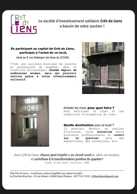 Saint Etienne - Résidence d'acteurs ESS - Propriété collective avec les habitants !   Villes en transition   Scoop.it