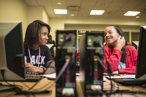 Helping Girls of Color Smash the Digital Divide  | Technology on GOOD | Teach all kids to Code | Scoop.it
