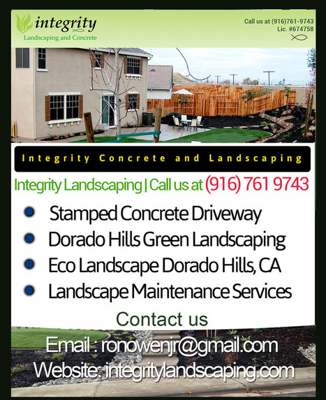 Exposed Aggregate Patios in Loomis | Integrity Landscaping | Scoop.it