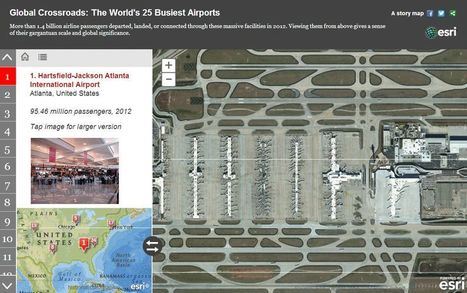 The World's 25 Busiest Airports | Geography Education | Scoop.it