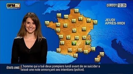 Le soutien-gorge sexy de Fanny Agostini (BFM TV) - photo | Radio Planète-Eléa | Scoop.it