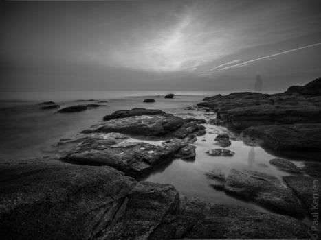 Bretagne - Finistère : crépuscule à Beg-Meil, Fouesnant (5 photos... et LE fantôme)   photo en Bretagne - Finistère   Scoop.it