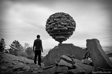 Les sculptures en équilibre de Michael Grab | #Graphisme #Webdesign #Communication #Publicité | Scoop.it