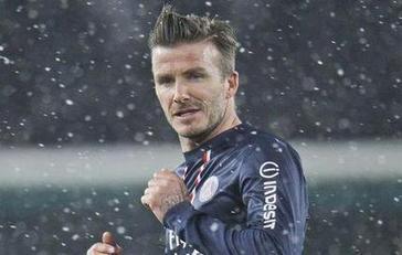 Beckham débutera face à l'OM | Facefoot 100% Football News | Scoop.it