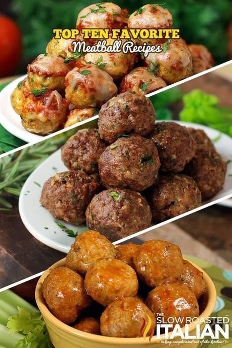 Top 10 All Time Favorite Meatball Recipes | Ruoka | Scoop.it