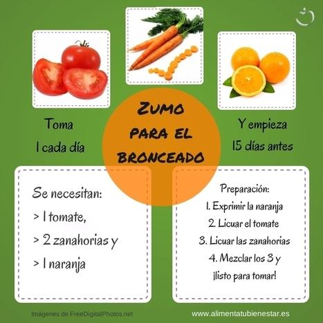 Prepara tu piel para el sol - alimentatubienestar | Nutrition Today | Scoop.it