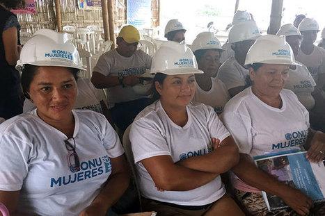 Las mujeres están reconstruyendo Ecuador. Literalmente. | Genera Igualdad | Scoop.it