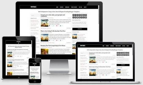 WhiteMag Blogger Template | Blogger themes | Scoop.it