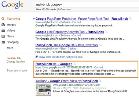Google Plus Profiles for Businesses in SERPs – SEO Benefit | Google Plus and Social SEO | Scoop.it