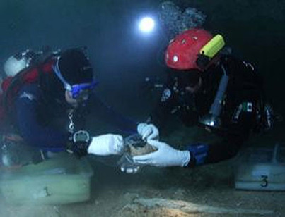 10000-year-old remains disappear from underwater cenote | A Blog ... | Cave Diving | Scoop.it