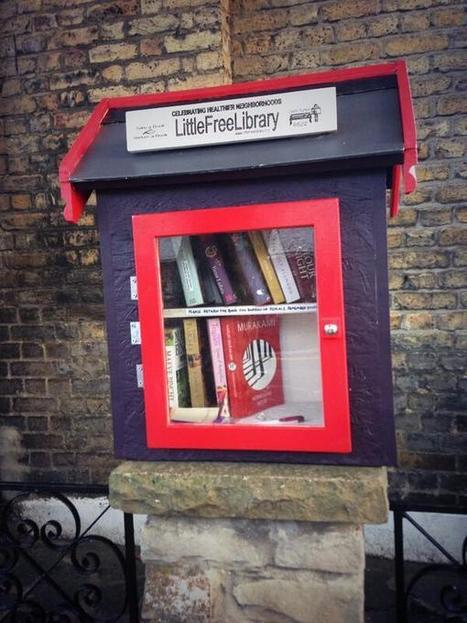 Twitter / HeardinLondon: I just found a tiny library ... | library | Scoop.it