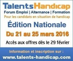 Salon virtuel 3D «Talents Handicap»: 6e édition nationale | Handicap et emploi, handicap et société | Scoop.it