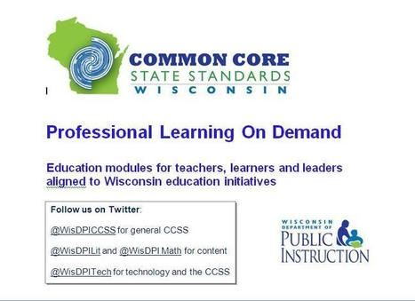 Professional Learning on Demand | Common Core Team | CDS CCSS | Scoop.it
