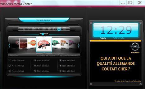 Mon coup de coeur : PC Astuces - Ajouter la radio au Media Center - Windows Media Center   Méli-mélo de Melodie68   Scoop.it
