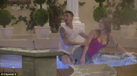 CBB 2014 Dappy and Luisa Zissman Naked shower session see video | entertainmentpixel.com | Scoop.it