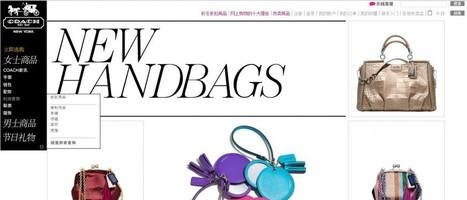 Coach : e-commerce des sacs à main de luxe -   E-commerce & ventes privées   Scoop.it