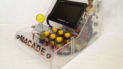 Build A See-Through Arcade Machine With A Raspberry Pi - | AGOTTE News | Scoop.it