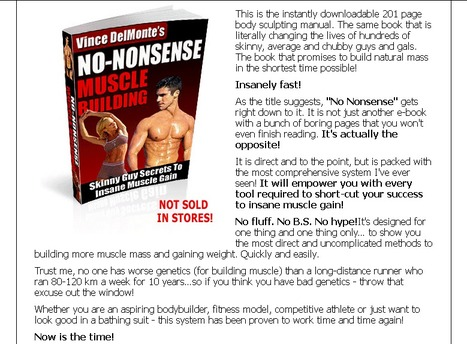 How to Build Muscle - The No Nonsense Guide To Fast Muscle Building | FITNESS AND WEIGHT LOSS | Scoop.it