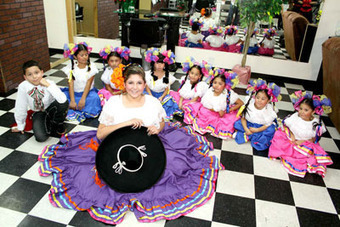 Grupo folklórico México Aquí, creación de una adolescente | La Prensa Libre | BAILES MEXICANOS | Scoop.it