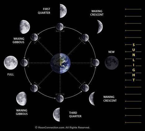 Moon Phases / Lunar Phases Explained | Space | Scoop.it