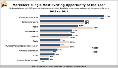 Customer Experience Tops Most Exciting Marketing Opportunity For 2015 | RETAIL LAB - Topics & Trends for Omni-Channel Retailers | Scoop.it