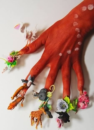 15 Incredibly Awesome Nail Designs | Strange days indeed... | Scoop.it