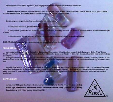 Vitrofusión: utilización en joyería, moda y decoración | Artesanía | Scoop.it