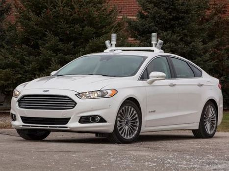 Ford shows off its new autonomous driving research vehicle – it's got lasers | GigaOM Tech News | Energy | Scoop.it