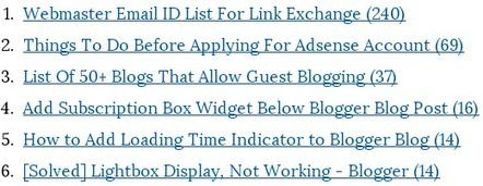 Add Most Commented Posts Widget to Blogger Blog | Blogger Tricks, Blog Templates, Widgets | Scoop.it
