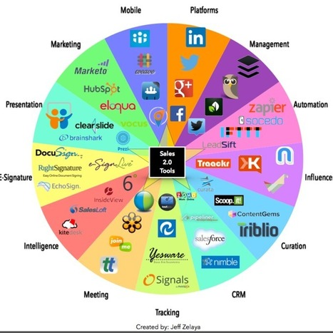 Social Selling Infographic: The Sales 2.0 Conversation Prism   Microsoft Dynamics CRM   Scoop.it